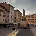 Piazza Farnese terrace penthouse: 270 sqm + 150 sqm of terrace