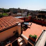 SOLD – Trastevere Terrace Apartment: 55+60 square meters