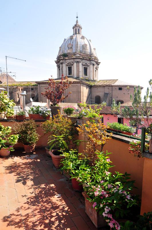 Campo Dei Fiori Terrace Apartment For Sale Rome Real Estate