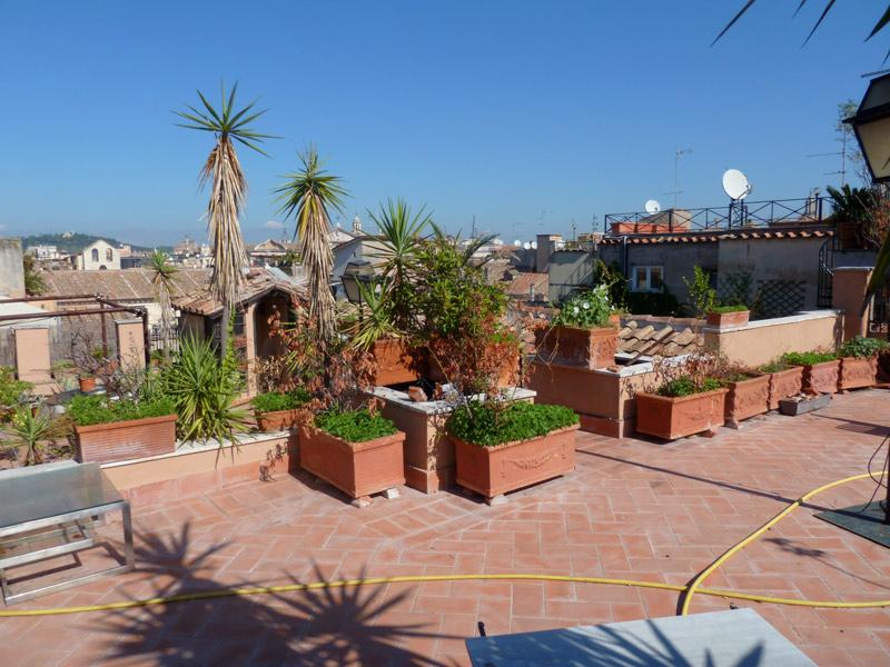 Campo Dei Fiori Terrace Penthouse For Sale Rome Real Estate