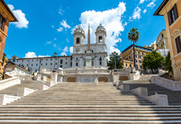 Spanish steps apartments, Rome