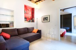 Spagnoli studio apartment: Up to 2+2 people