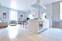 Trastevere modern loft: Up to 2+2 people
