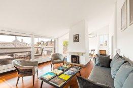 Ático con terraza en Navona: Hasta 4 personas