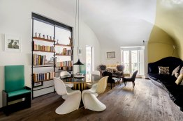 Trastevere luxury design apartment: Up to 5+1 people