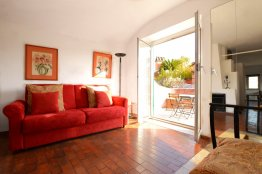 Trilussa terrace penthouse: Up to 2+2 people