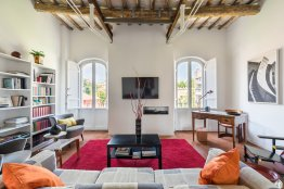 Trastevere terrace penthouse - Rome apartments rental