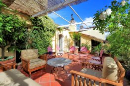 Rome Spanish Steps terrace penthouse for rent