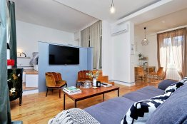 Trastevere Cozy Studio Apartment: Up to 2 people