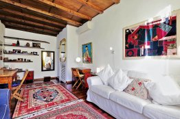Trastevere lovely studio apartment: Up to 2+2 people