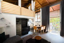 Rome Trastevere Loft: Up to 2 people - Rome Apartment Rentals