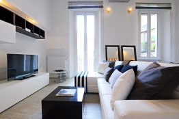 Cappellari white luxury loft: Up to 2+2 people