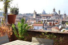 Campo de Fiori terrace apartment with view - Via dei Leutari