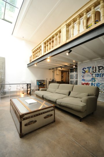 Spanish Steps luxury terrace loft: Up to 2+1 people