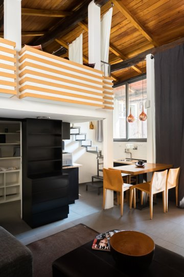 Panieri loft: Up to 2+1 people