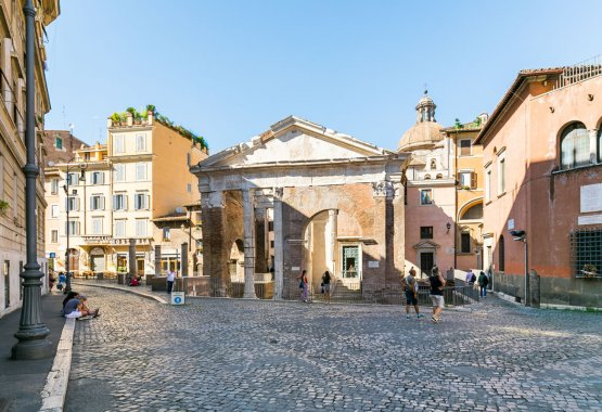 Rome Jewish Ghetto apartment accommodation