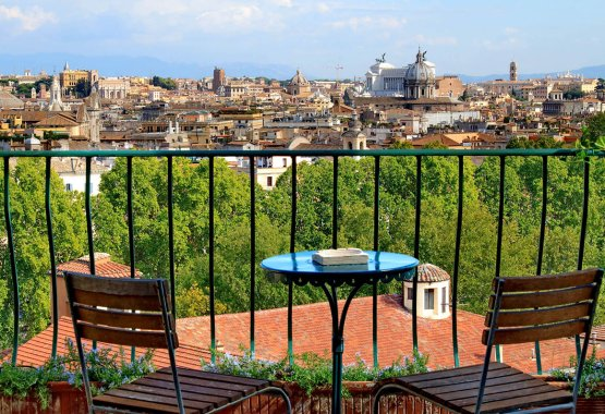 Santu0027Onofrio Terrace View Apartment | Rome | Ideal For Couples