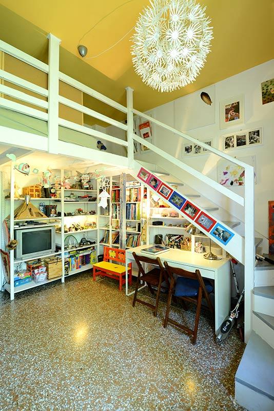 Janiculum apartment for rent in Rome, Trastevere
