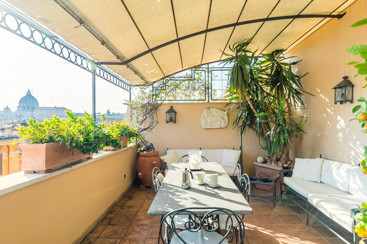 Roma Vaticano Piso En Alquiler Con Terraza Elegancia Y Lujo