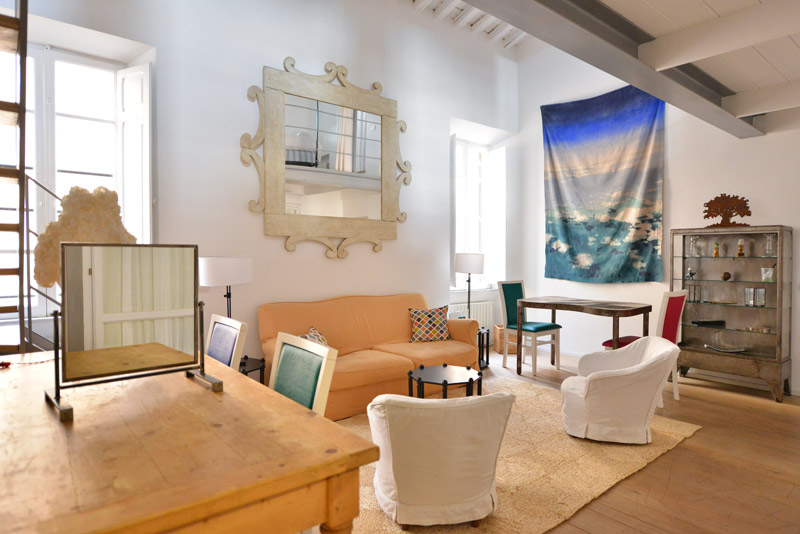 photos in living room trastevere apartment rome up to 5 17316