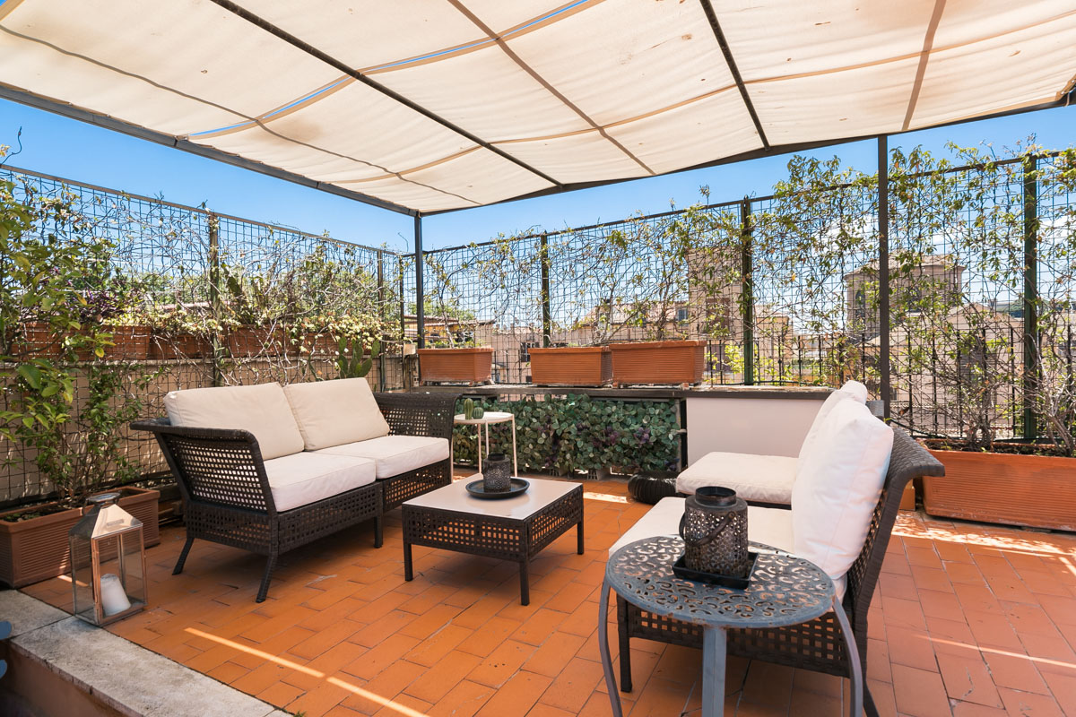 Trastevere terrace penthouse - Rome apartments rental