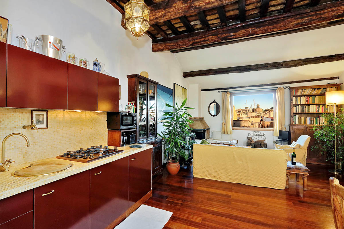 Campo De Fiori Rome Terrace Apartment