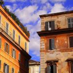 trastevere buildings