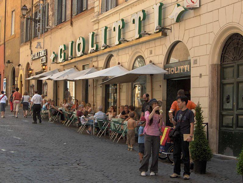 Rome Giolitti gelato