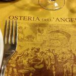 Osteria dell'Angelo is a place to sample genuine Roman cuisine