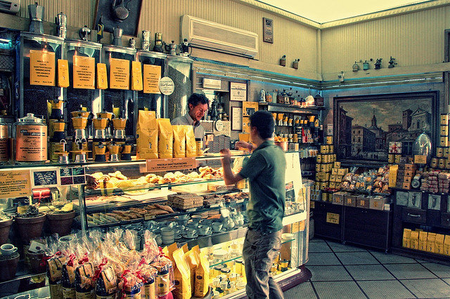 caffe sant'eustachio coffee shop