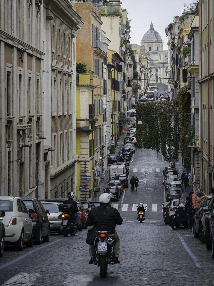 Via Panisperna, Monti, Rome
