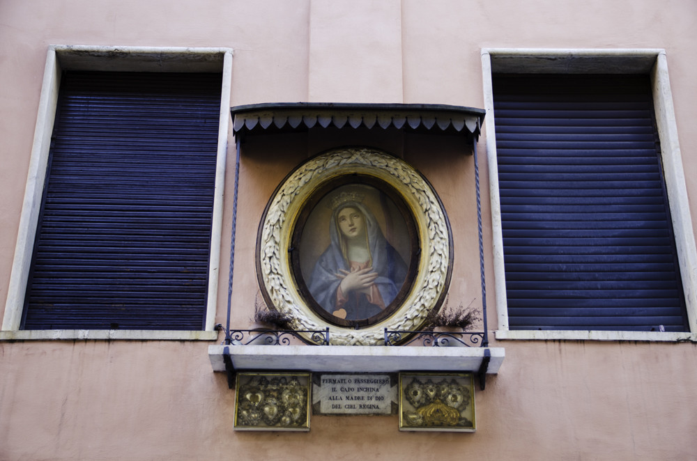 An image of Madonna in Monti