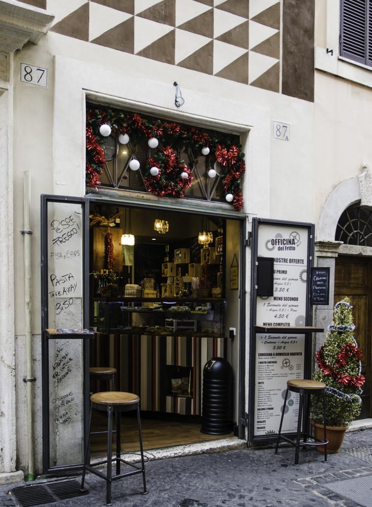 A restaurant in Monti