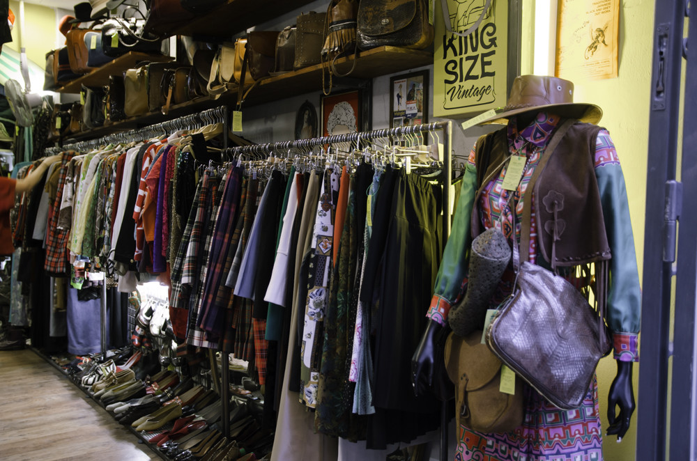 King Size Vintage shop in Monti