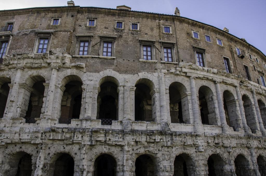 Theatre of Marcellus Close-Up