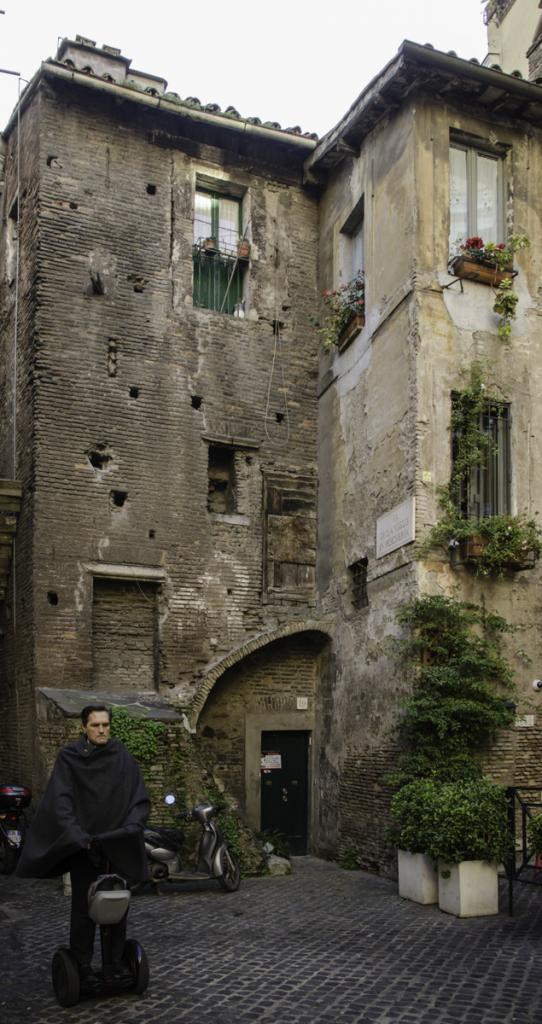 Medieval houses from the times of the ghetto